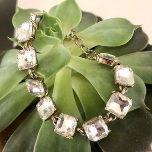 Ann Taylor Loft rhinestone bracelet